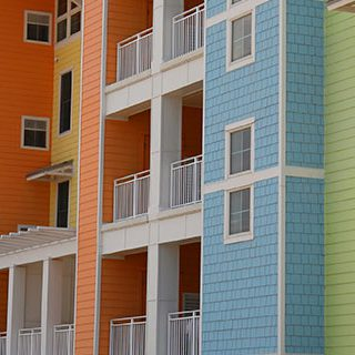 Colorful Apartments - Lead Image for Apartment Complex Page