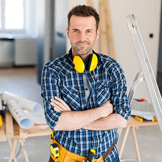 Artisan Contractor Standing and Smiling - Lead Image for Home Page