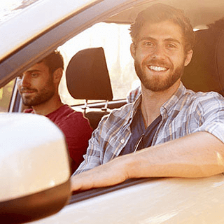 Male Driver Smiling - Lead Image for Home Page