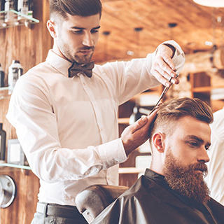 Barber Cutting Hair - Lead Image for Barber Shops and Salons Page