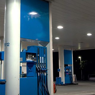 Gas Pumps with Car Refuelling - Lead Image for Gas Stations Page