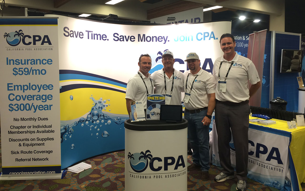 CPA Staff Attending Pool Spa Show - Banner Image for CPA Attends Pool Spa Show Blog