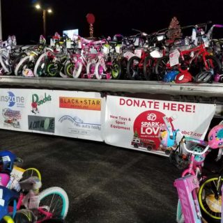 Inzone Toy Donation Bikes - Banner Image for Inszone Insurance Partners with Local Orange County Businesses to Support Spark of Love Toy Drive Blog