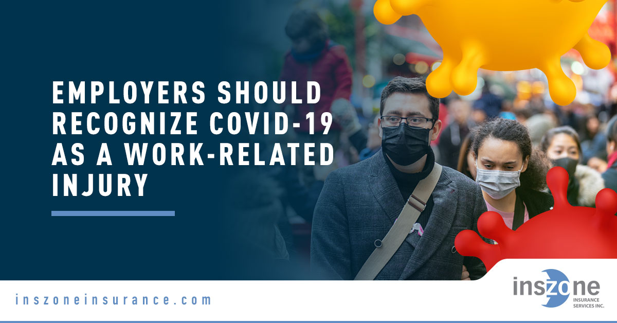 Banner Image for COVID-19 as a Work Related Injury Blog