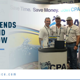 CPA Team - Banner Image forCPA Attends Pool and Spa Show Blog