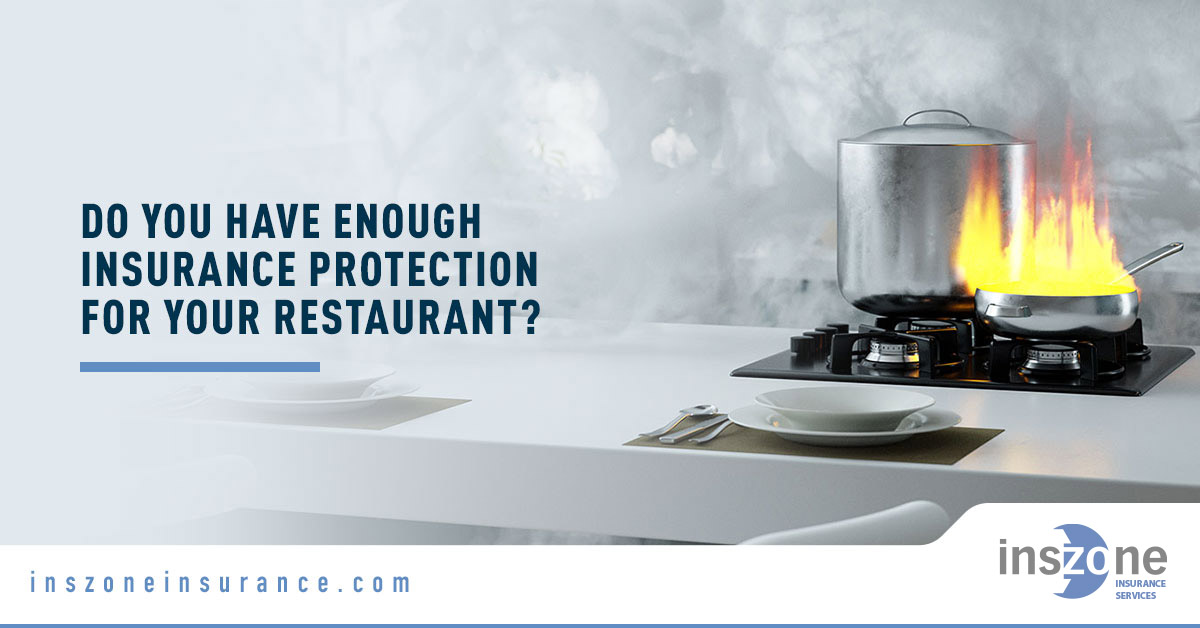 Stove Burner - Banner Image for Do You Have Enough Insurance Protection for your Restaurant Blog