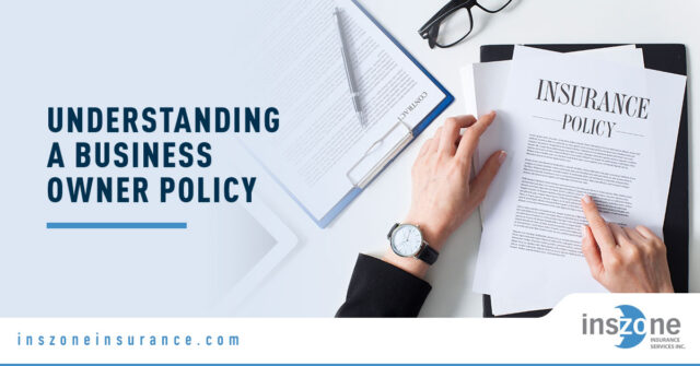 Insurance Form - Banner Image for Understanding a Business Owner Policy Blog