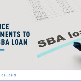 SB Loan Form - Banner Image for Insurance Requirements to Get an SBA Loan Blog