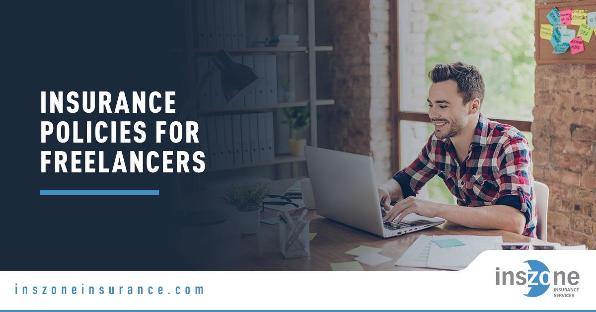 Freelancer Using Computer - Banner Image for Insurance Policies for Freelancers Blog